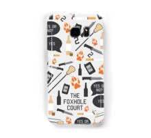 The Foxhole Court Pattern Samsung Galaxy Case/Skin