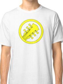 Guitar player yellow Classic T-Shirt