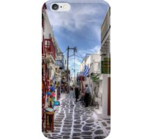 Mykonos Shops iPhone Case/Skin