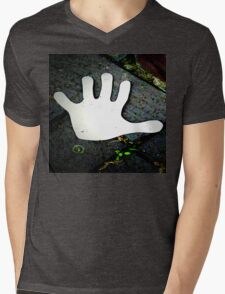 A HAND ON THE STREET  Mens V-Neck T-Shirt