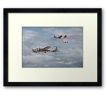 B17and P51 - Red Tails - 'Bringing them Home' Framed Print