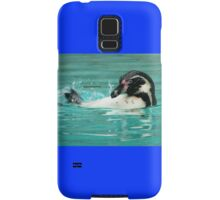 Penguin swimming  Samsung Galaxy Case/Skin