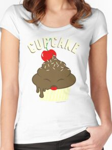 cupcake <3 Women's Fitted Scoop T-Shirt