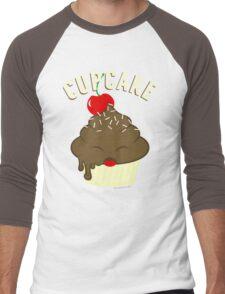 cupcake <3 Men's Baseball ¾ T-Shirt