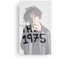 Matthew Healy The 1975 Canvas Print