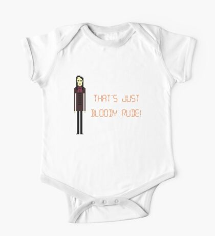 The IT Crowd – That's Just Bloody Rude! One Piece - Short Sleeve
