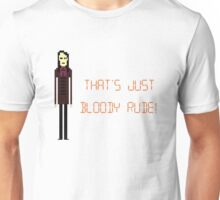 The IT Crowd – That's Just Bloody Rude! Unisex T-Shirt