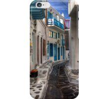 Mykonos Street iPhone Case/Skin