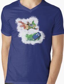 Freefalling Mens V-Neck T-Shirt