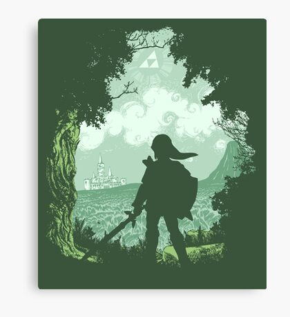 Adventure Begins Canvas Print
