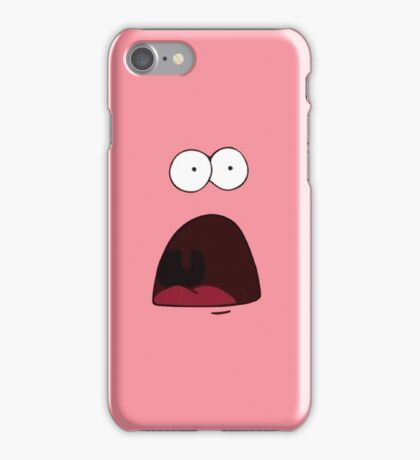 Surprised Patrick iPhone Case/Skin