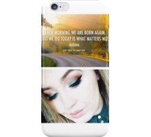 Born Again iPhone Case/Skin