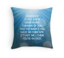 Always Remeber, Never Forget Throw Pillow