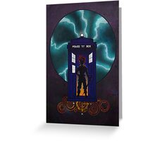 Chrono Who, Poster & Samsung Cases Greeting Card