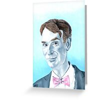 The Science Guy Greeting Card