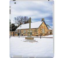 Dalmeny Mercat Cross iPad Case/Skin