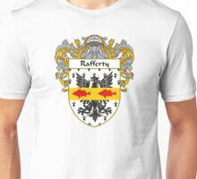 Rafferty Coat of Arms / Rafferty Family Crest Unisex T-Shirt