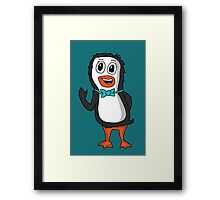 Penguin Bill Framed Print
