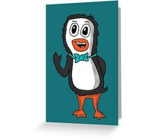 Penguin Bill Greeting Card