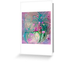 Charm In The Garden Greeting Card