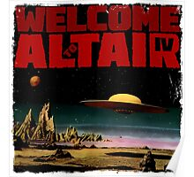 Altair IV... Welcome Poster