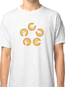 Rock Paper Scissors Lizard Spock - Yellow Variant Classic T-Shirt