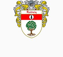 Rainey Coat of Arms / Rainey Family Crest Unisex T-Shirt