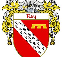 Ray Coat of Arms / Ray Family Crest by William Martin