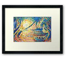 Beach Formation Framed Print