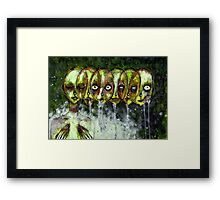 ALL THE UGLY ONES Framed Print