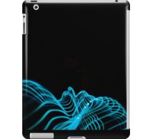 a kiss in a wave iPad Case/Skin