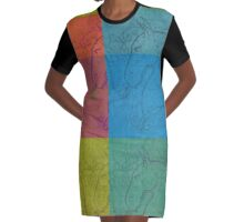 Hawaiian Imaginary Horse Composite © 2016 by Edward Huse Graphic T-Shirt Dress