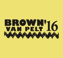 Elect Brown VanPelt '16 by heliconista
