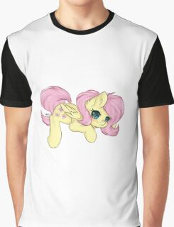 Fluttershy [Dreamy Chibi] Graphic T-Shirt