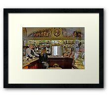 Deli Italiano Framed Print