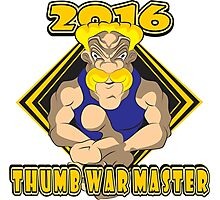 THUMB WAR MASTER Photographic Print