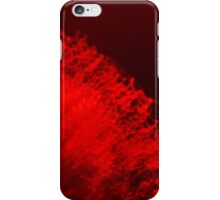 Red neon lights 4 iPhone Case/Skin