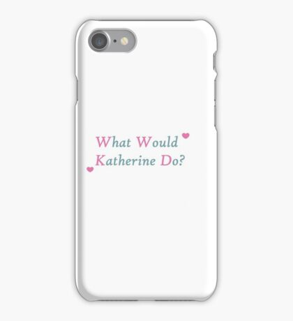 The Vampire Diaries- Katherine iPhone Case/Skin