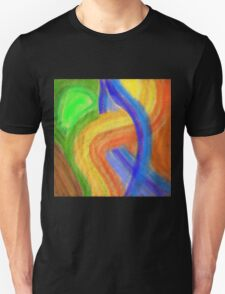 Colors in Arcs Unisex T-Shirt