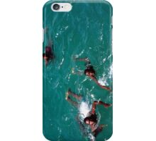 African Kids Swimming off Goree Island - Print iPhone Case/Skin