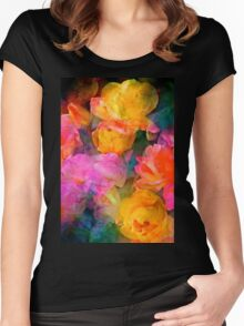Rose 224 Women's Fitted Scoop T-Shirt