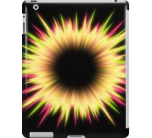 Light burst abstract design iPad Case/Skin