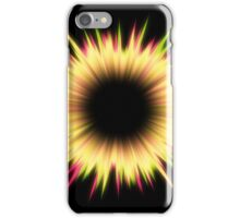 Light burst abstract design iPhone Case/Skin