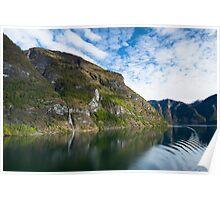 Fabulous Fjord Poster