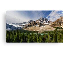 Crowfoot Glacier and Bow Lake Canvas Print