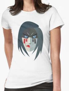 AA MASK / BRAD Womens Fitted T-Shirt