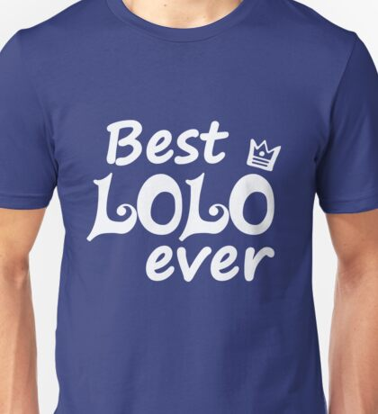Best Lolo Ever - World's Greatest Filipino Grandpa Ever Unisex T-Shirt