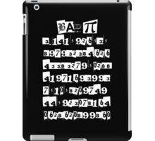 BAD PI iPad Case/Skin