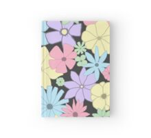Girly Pastel Flowers Are Fun! Hardcover Journal