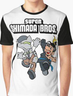 Super Shimada Bros! Graphic T-Shirt